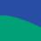 Royal plava-zelena